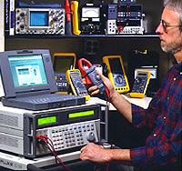 Fluke 9500B示波器校准器图片
